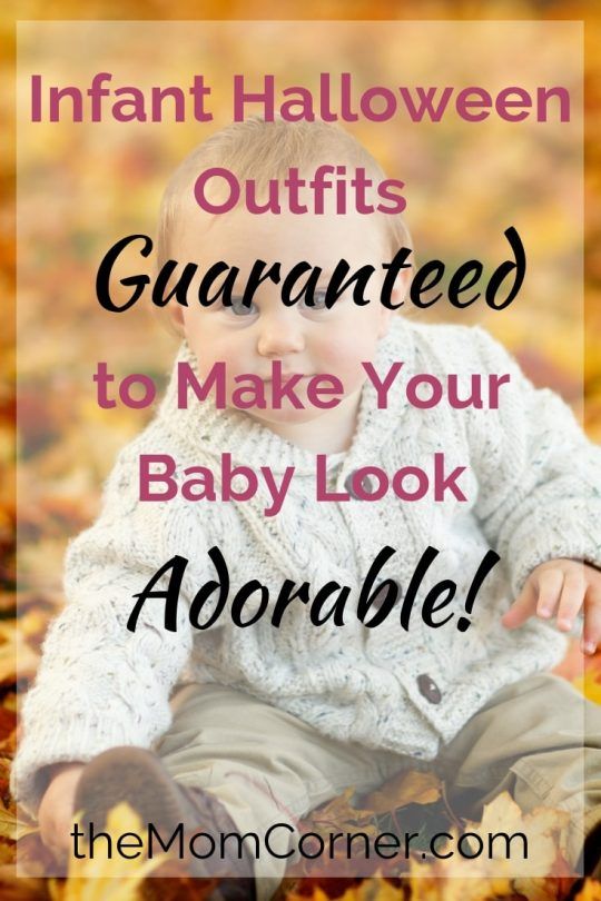 Fun Infant Halloween Outfits. Find the perfect Halloween outfit for your baby with these adorable halloween costume ideas. #halloween #babyHalloweenoutfits #halloweenoutfits #adorablebabyHalloween