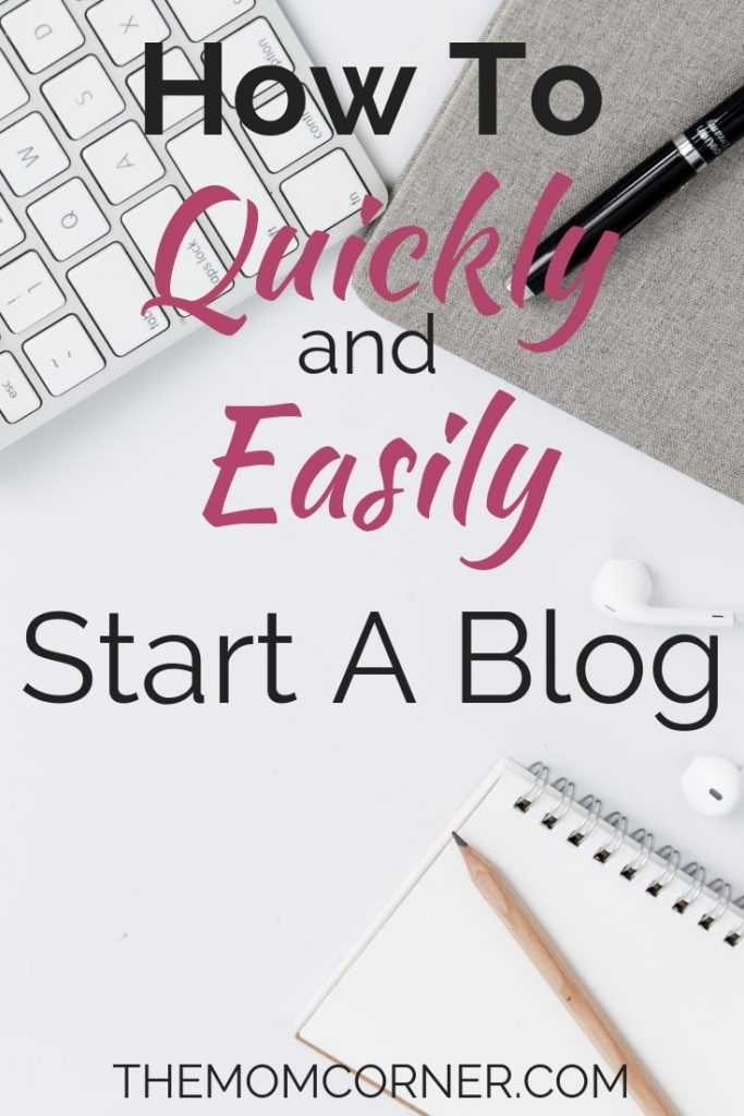 How to Quickly and Easily Start a Blog. Learn how to easily set up a blog within minutes. #blogging #startablog #profitableblog #makemoneyblogging