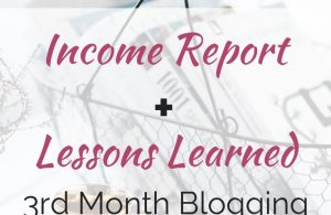 October 2018 Income Report + Lessons Learned Blogging. #incomereport #blogging #blogger #momblogger #momblog #makemoneyblogging