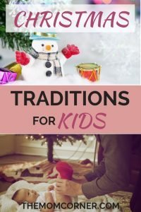 Christmas Traditions for Kids. Get great ideas for Christmas traditions for kids, toddlers, and families. #toddlers #family #christmastraditions #ideas