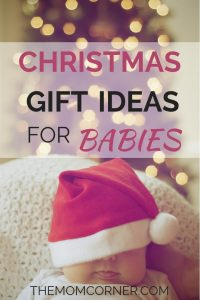 Christmas Gift Ideas for Babies. Rock your babies first Christmas with these awesome baby gifts. #baby'sfirstchristmas #firstchristmas #christmasgiftsideasforbabies #babygifts