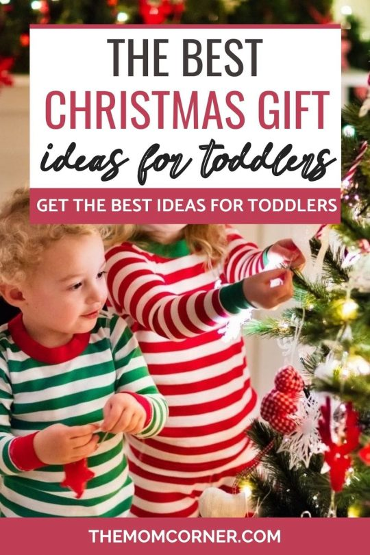 The best Christmas gift ideas for toddlers. Looking for great Christmas gifts for kids? These Christmas gifts for toddlers are only the best, with no junk.