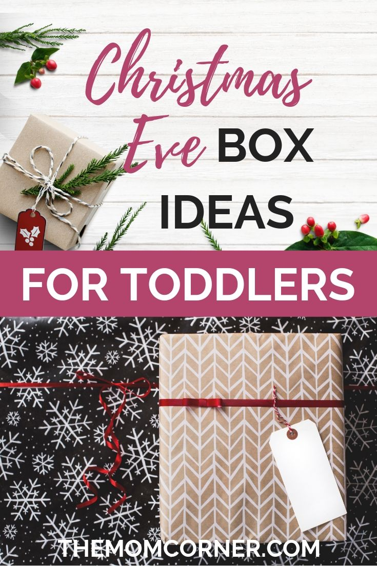 Toddler Christmas Eve Box Ideas. Get awesome ideas for Christmas Eve box for toddlers to rock your toddler's Christmas.
