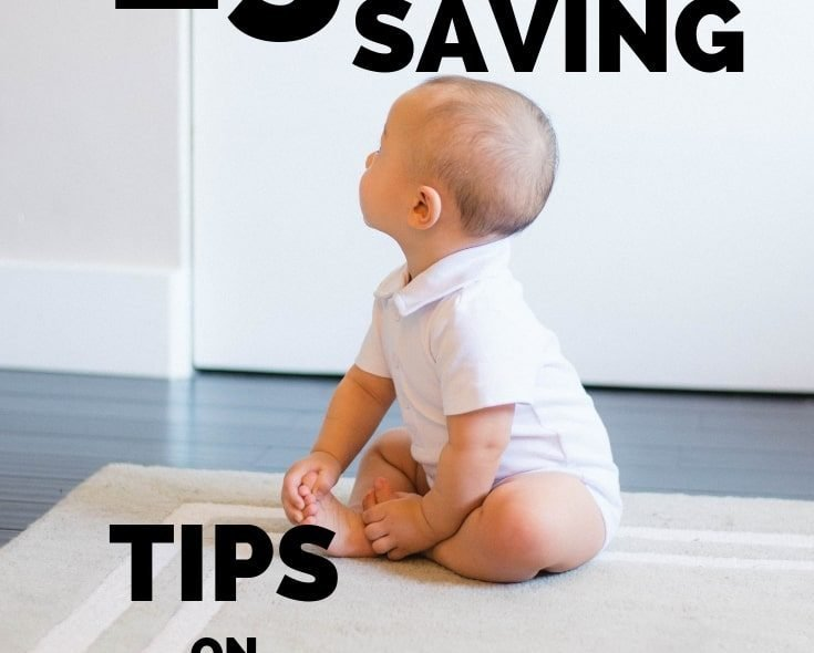 15 Ways To Save Money On Baby Items