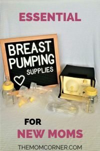Breast Pumping Supplies for Beginners. Find the best supplies for breast pumping for new moms!