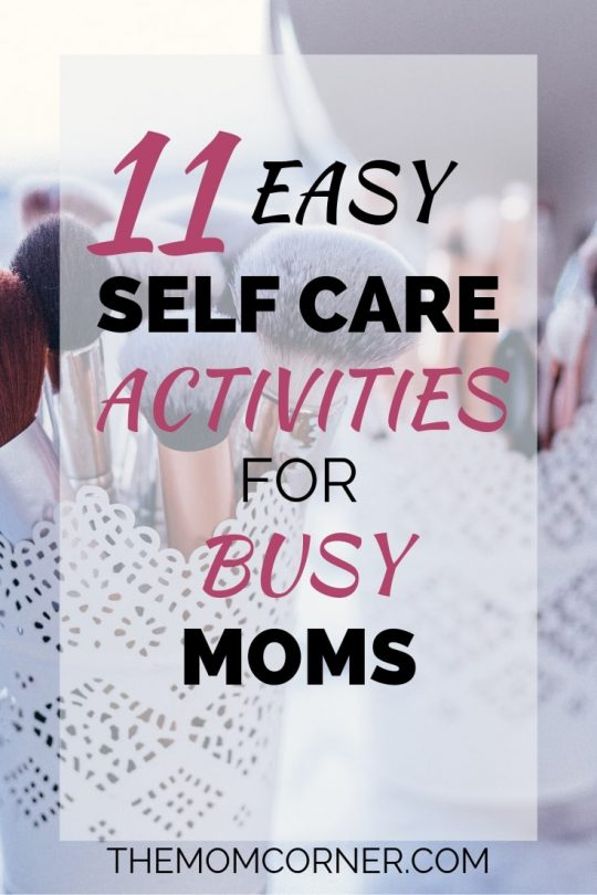 Check out these super simple self care ideas that every mom can do at home in just five minutes. These tips will help you reduce stress, love yourself, and improve your health.