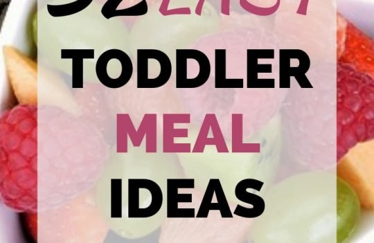 Coming up with toddler meal ideas doesn't have to be difficult. Check out these 32 ideas for breakfast, lunch, and dinner that even picky eaters will like.