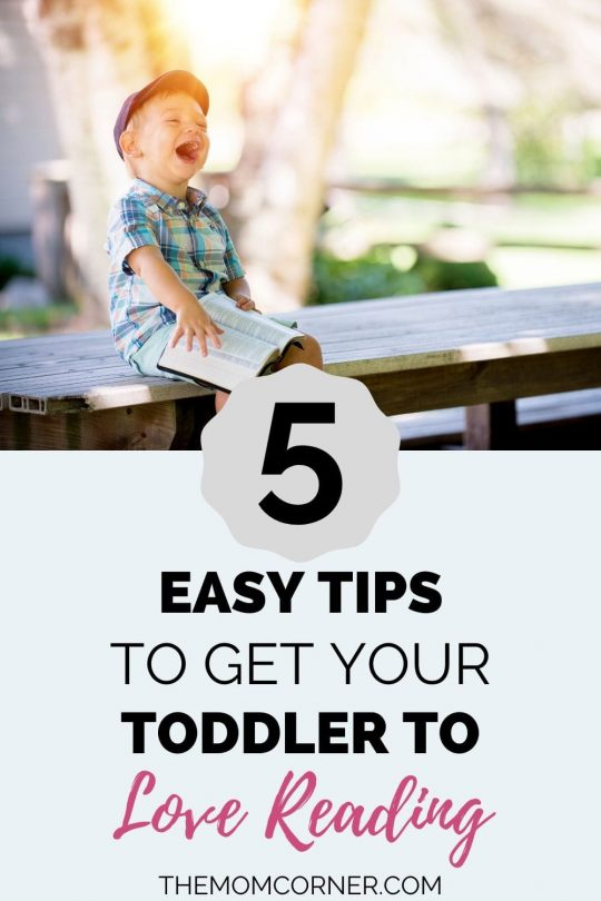 Get Your Toddler To Love Reading In 5 Easy Tips. Reading books to your toddler is such an important thing to include in your daily activities. Here are five easy tips for teaching your toddler to love reading early on (and be better at it!).