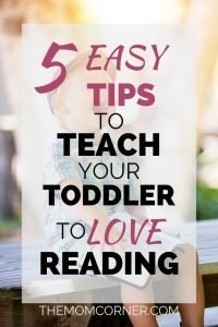 It can be hard to when your toddler doesn't want to sit still and read. Some toddlers show no interested in reading at all. Check out these five easy tips to get your toddler interested in reading and learning from books.