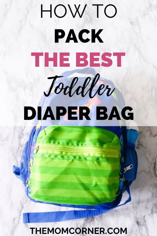 How To Pack The Best Toddler Diaper Bag. Need ideas for what to put in your toddler's diaper bag? Grab your free checklist to ensure you have all the essentials in your little one's backpack, so you can tackle the day!