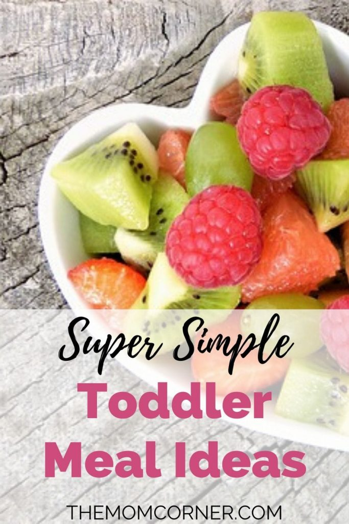 Super Simple Toddler Meal Ideas. Get 32 simple and healthy meal ideas for lunch, dinner, or breakfast for 18 months or 2 year old toddlers. These easy meals are sure to be a hit, even for picky eaters.