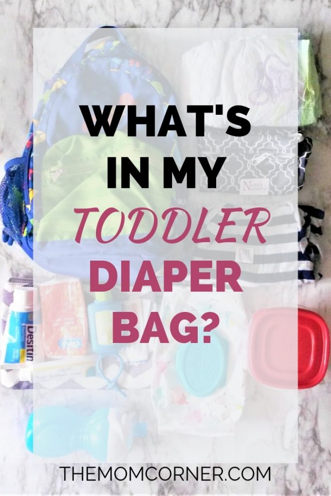 Wondering what is in my toddler diaper bag? Check out my toddler's backpack and get a free diaper bag essentials checklist!