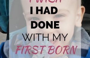Things I Wish I Had Done With My First Born. Tips for new moms that I wish I had done with my first newborn baby. #newmomadvice #newborns #firstbaby