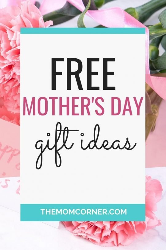 These free Mother's Day gifts will show her you truly love and appreciate her. The best Mother's Day gift ideas are actually free. Check out these gift ideas and treat the new mom in your life. #mothersday #mothersdaygifts #giftsformoms