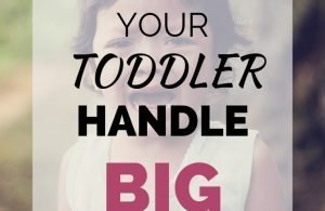 Tips To Help Your Toddler Hand Big Emotions. Check out these simple parenting tips to help your child manage their anger, sadness, excitement, and other big emotions while minimizing tantrums and meltdowns.