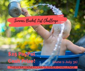 Free Summer Bucket List Challenge. Sign up for this fun summer activity for babies and toddlers and get the chance to win $25! This fun bucket list is the perfect free outdoor summer activity for toddlers, 2 year olds, and babies.
