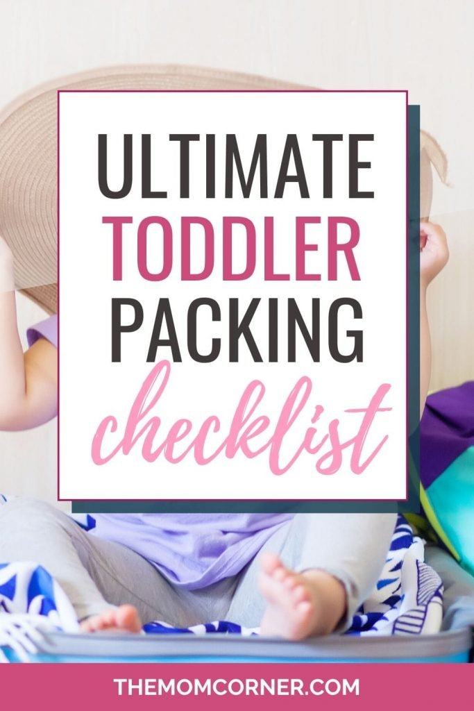The Ultimate Toddler Packing List. Whether you're traveling by plane or taking a road trip, this toddler travel packing list will make packing for your vacation a breeze. Plus, get the free printable packing list!