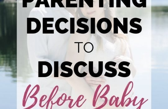 Parenting Decisions To Discuss Before Baby Arrives. Check out these eight important parenting decisions you should discuss and make before you baby arrives.