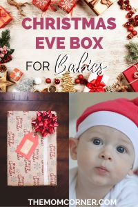 How To Make An Amazing Christmas Eve Box For Baby. Christmas Eve boxes make fantastic Christmas traditions for babies. Wondering how to make one and what to include? This post has you covered!