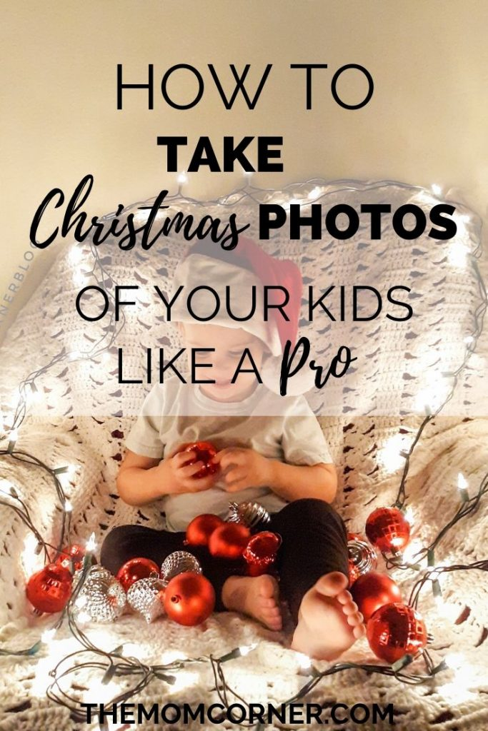How To Take Christmas Photos Of Your Kids Like A Pro. In this DIY tutorial, learn how to do mini sessions of family photography right at home. These cute ideas and instructions will help you take amazing baby pictures, while keeping it simple. Christmas photoshoots of kids doesn't have to be hard or expensive.