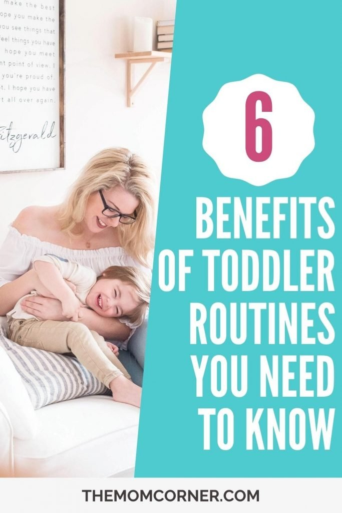 Did you know that there are huge benefits of having a toddler routine for you and your child? Toddlers crave routine, and so do moms! Whether you need a more set schedule or looser routine, your toddler will feel better, act better, and life with a toddler will be much easier.
