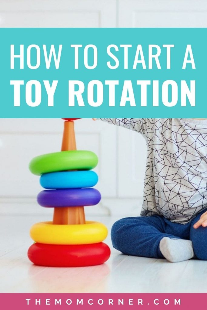 How To Set Up An Effective Toy Rotation For Toddlers. Learn exactly how to set up an effective toy rotation system for toddlers and even babies. Whether you need a daily rotation, weekly rotation, or monthly rotation, these tips and ideas will get you started on organizing your child's toys and preventing boredom.