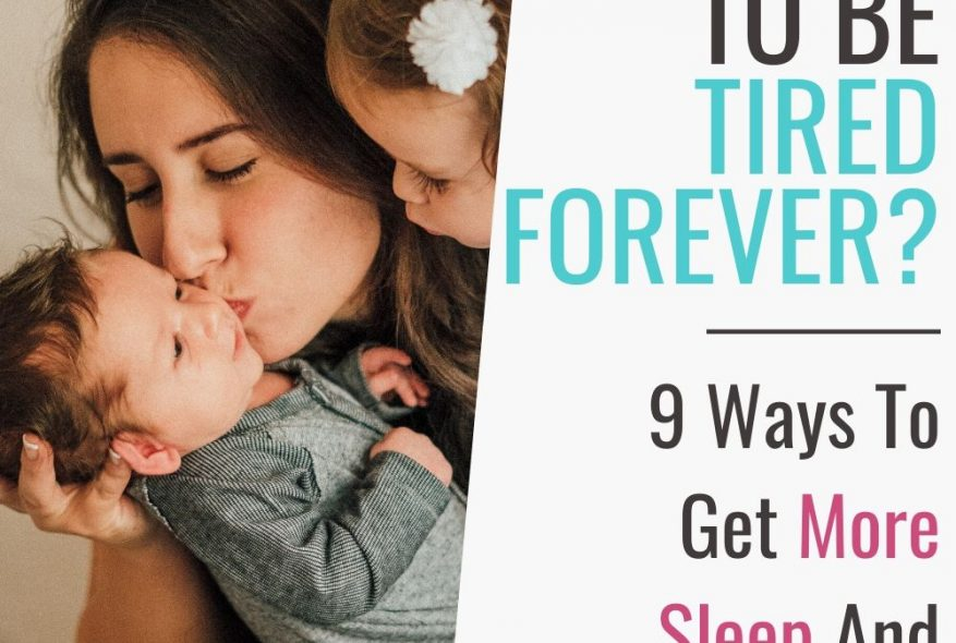 Are Moms Doomed To Be Tired Forever?