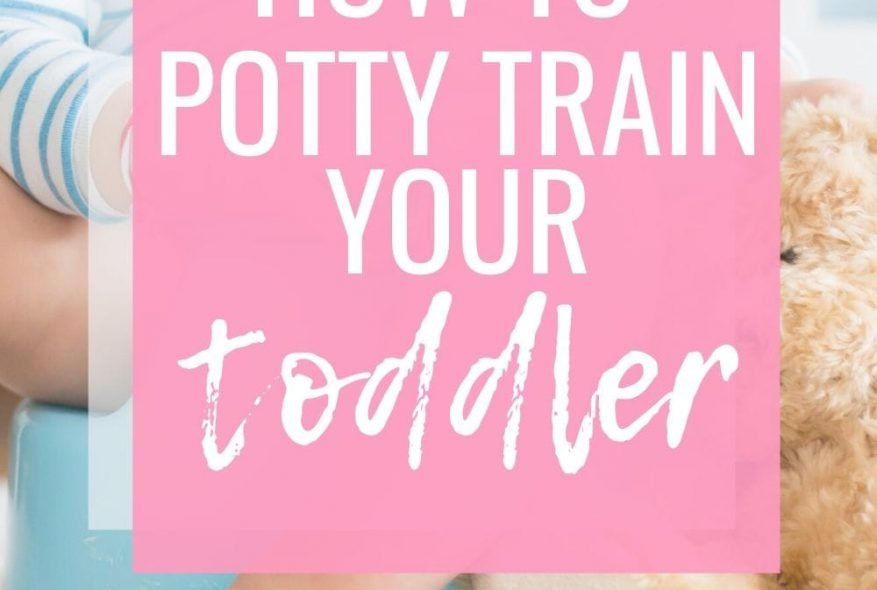 How To Potty Train Your Toddler (And One Big Mistake We Made)