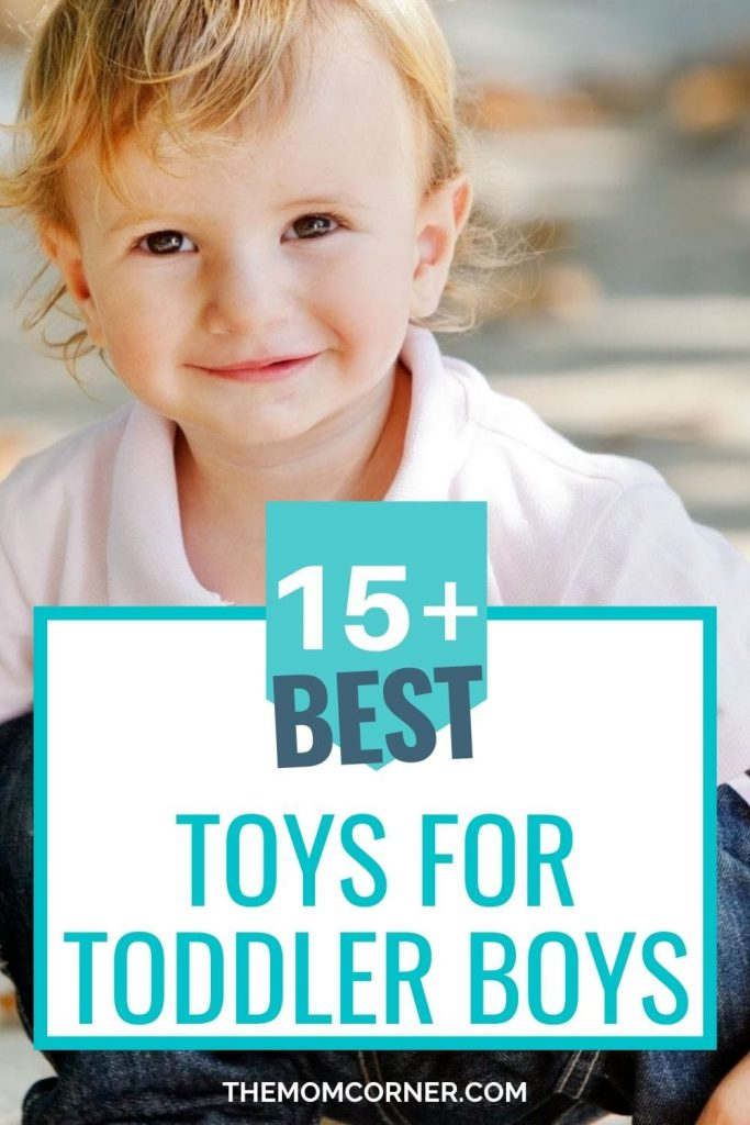 Whether you're looking for a birthday or Christmas gift, or just a good learning toy, these cool toys are the best toys for toddler boys. These toys for boys will keep your toddler active and engaged in play without any screen time.