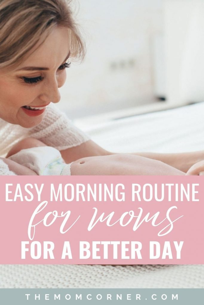 This easy morning routine for moms will help you be more productive and have a better day. Start your morning right with this simple routine for busy moms.