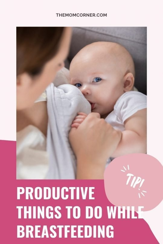 Looking for some fun breastfeeding activities to keep you entertained? Check out these 15 things to do while breastfeeding to escape boredom and get more done. If you're wondering what to do while breastfeeding, this is the list for you. #breastfeeding
